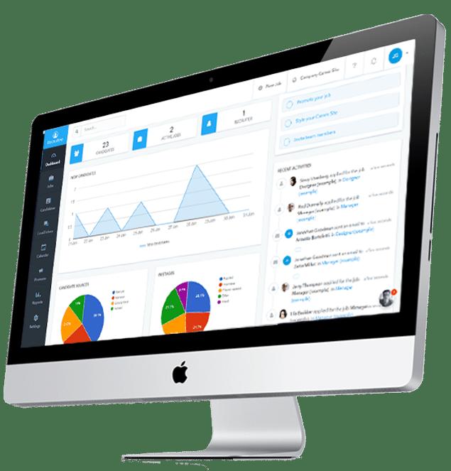 recruitment statistics software demonstration