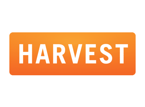 best software for small businesses Harvest logo