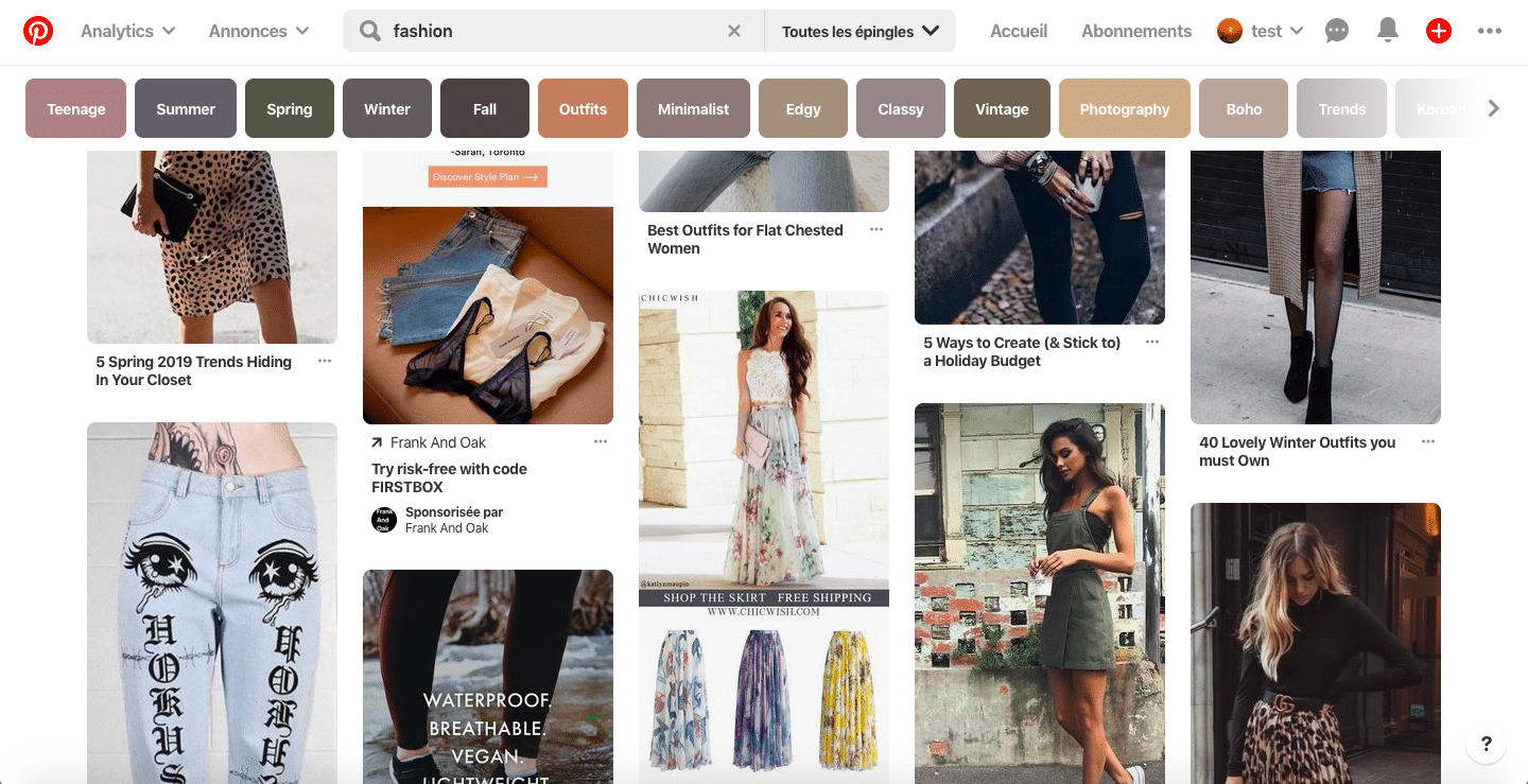 Pinterest marketing consultant for fashion businesses