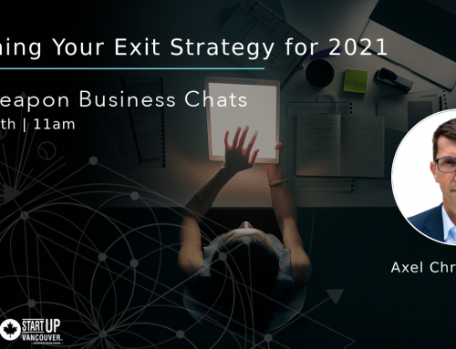 Secret Weapon Chats: Re-planning Your Exit Strategy for 2021